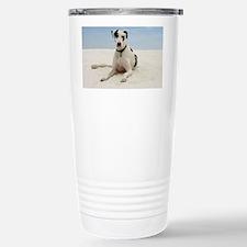GD beach greeting Stainless Steel Travel Mug