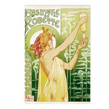 absinthe Robette 14x10 Postcards (Package of 8)