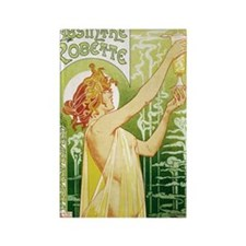 absinthe Robette 14x10 Rectangle Magnet