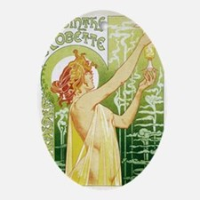 absinthe Robette 14x10 Oval Ornament