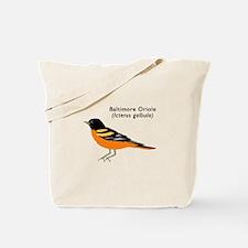 baltimore oriole Tote Bag