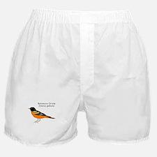 baltimore oriole Boxer Shorts