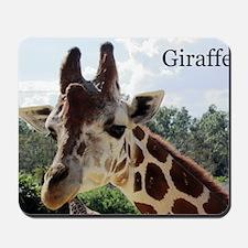over size giraffe 1 copy Mousepad