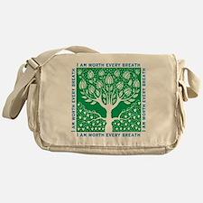Smoking Tree Messenger Bag