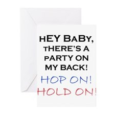 """""""Naughty"""" Greeting Cards (Pk of 10)"""
