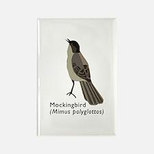 mockingbird Rectangle Magnet