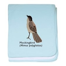 mockingbird baby blanket