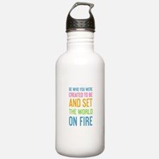 Running quotes Water Bottle