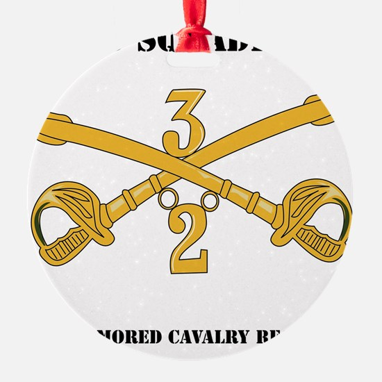DUI-2-3RD ARMORED CAVALRY REGIMENT  Ornament