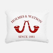 holmeswatsonsince1881c Rectangular Canvas Pillow