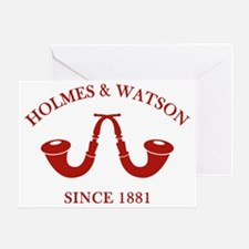 holmeswatsonsince1881c Greeting Card