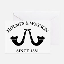 holmeswatsonsince1881 Greeting Card