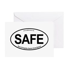 SAFE_carsticker Greeting Card