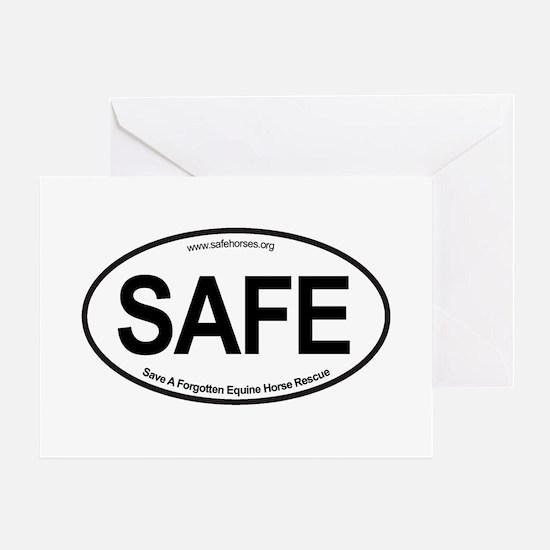 SAFE_carsticker Greeting Card