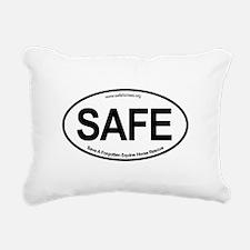SAFE_carsticker Rectangular Canvas Pillow