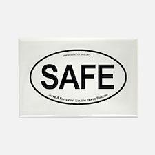 SAFE_carsticker Rectangle Magnet