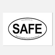 SAFE_carsticker Postcards (Package of 8)