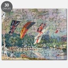 Regatta at Molesey, 1874, by Alfred Sisley Puzzle
