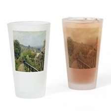 Louveciennes, or The Heights at Mar Drinking Glass