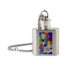 Pollock Colin Colors Trans 54 Flask Necklace