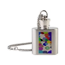Pollack Colin Colors Trans 73 Flask Necklace