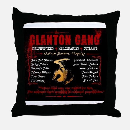 bloodmeridian_mousepad Throw Pillow
