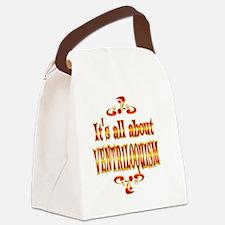 VENTRILOQUISM Canvas Lunch Bag