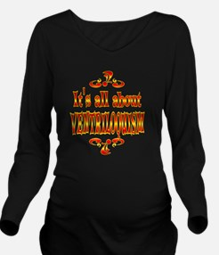 VENTRILOQUISM Long Sleeve Maternity T-Shirt
