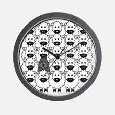 bouvierInTheSheep Wall Clock