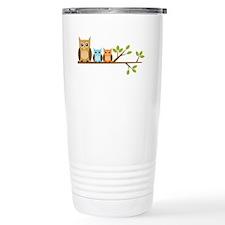 brown-owl-family2 Travel Mug