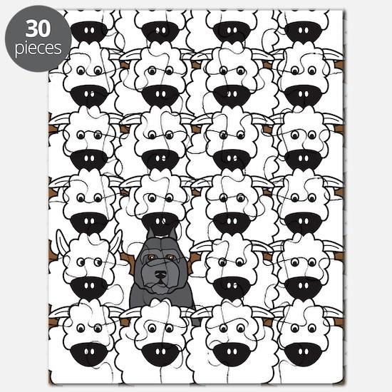 bouvierSheep_cards Puzzle