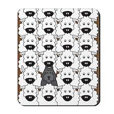 bouvierSheep_cards Mousepad