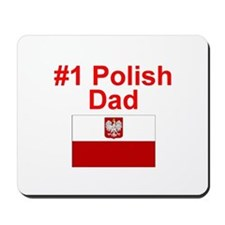#1 Polish Dad Mousepad