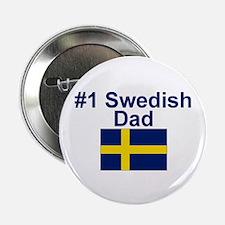 "#1 Swedish Dad 2.25"" Button"