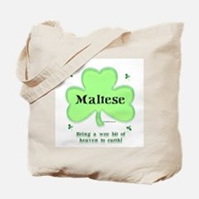 Maltese Heaven Tote Bag