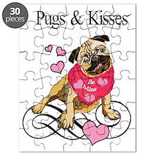 Pugs  Kisses Valentine Puzzle
