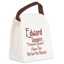 Edward Vampire Canvas Lunch Bag