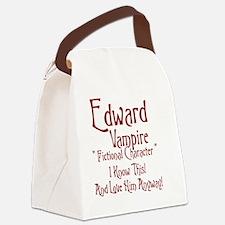 Edward Vampire Canvas Lunch Bag