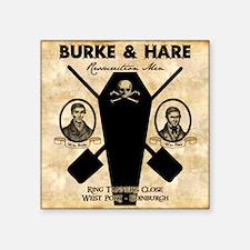 "burkehare_mousepad Square Sticker 3"" x 3"""