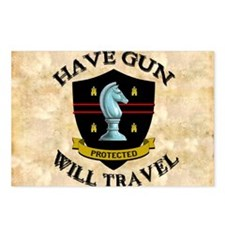 havegun_mousepad Postcards (Package of 8)