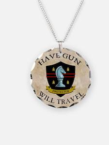 havegun_clock Necklace