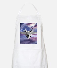 clouds flag and F22 square copy Apron