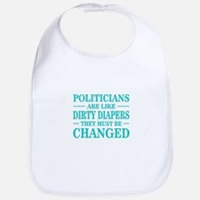 Politicians Like Dirty Diapers Bib