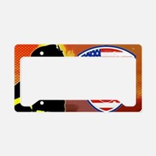 FIREFLAMES License Plate Holder