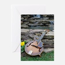 iPhone4_Slider_Ibanez_Waterfall Greeting Card