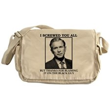 bushSHIRT Messenger Bag