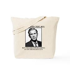 bushSHIRT Tote Bag
