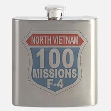 100 Missions F-4 Flask