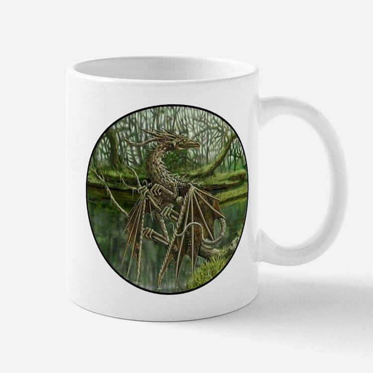 Wood Dragon Mug