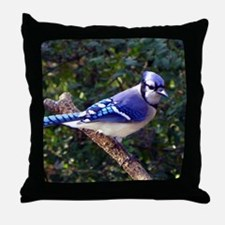 bluejayMP Throw Pillow